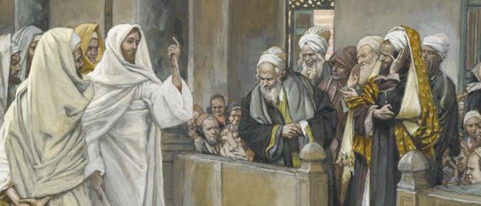 jesus escribas y fariseos