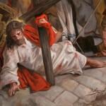 Las Tres Caídas de Cristo no figuran en los Evangelios