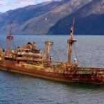 Aparece un barco en el mar 90 años después de haberse perdido