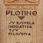 LIBRO: PLOTINO, SU VIDA Y SU FILOSOFÍA por Josefina Maynadé