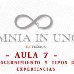 AULA 7: Discernimiento y tipos de experiencias